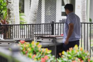 Cooking up a storm at Coral Beach Noosa Resort