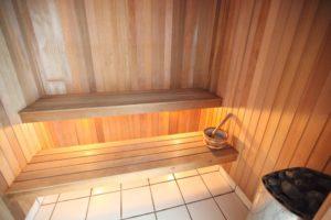 Enjoy our saunas at Coral Beach Noosa Resort