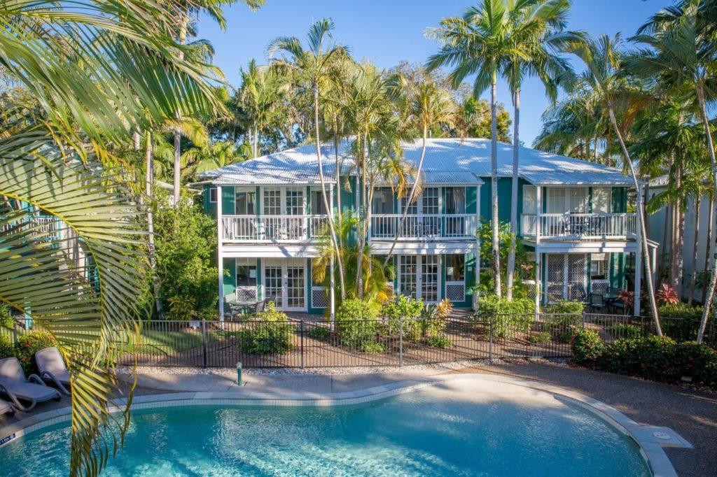 Coral Beach Noosa Resort a tropical haven