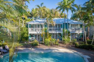 Coral Beach Noosa Resort a tropical haven